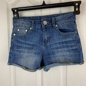 Almost Famous High Waisted Jean Shorts